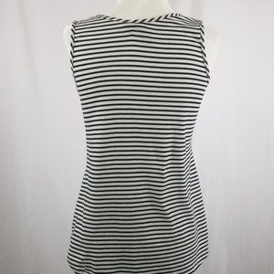 one september Tops - One September striped tank with beaded front